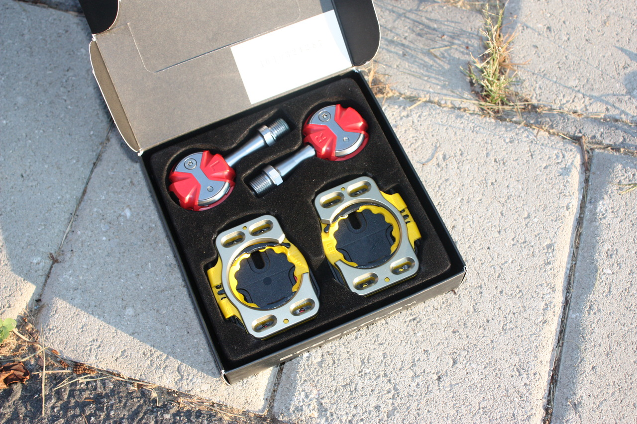 Speedplay pedals in box