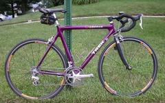 My old Trek OCLV with 9-sp DA