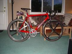 Scattante with old Spinergy Rev-X wheels