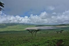 Leaving Ngorongoro