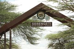 Entrance to Serengeti